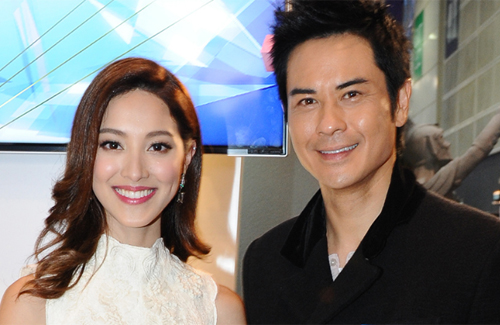 Kevin Cheng Takes Time Off to Celebrate Grace Chan's Birthday