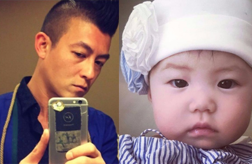 Edison Chen Shows Off Five-Month Old Daughter, Alaia