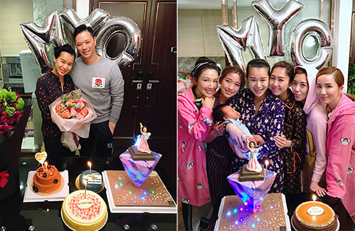 Myolie Wu Celebrates 38th Birthday with Family