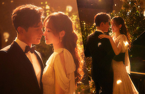 [Updated] Tiffany Tang and Luo Jin's Dreamy Wedding Photos | JayneStars.com