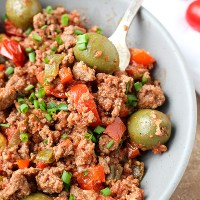 Paleo Whole30 Cuban Picadillo
