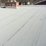 Residential flat roof done in SBS