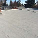 Residential flat roof system in St. Albert