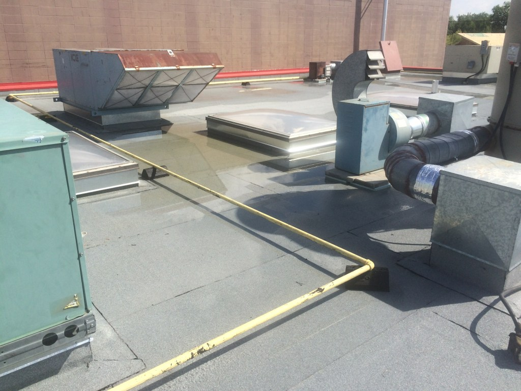 commercial flat roof system