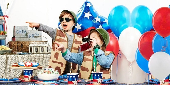 How to Throw an Army-Themed Birthday Party