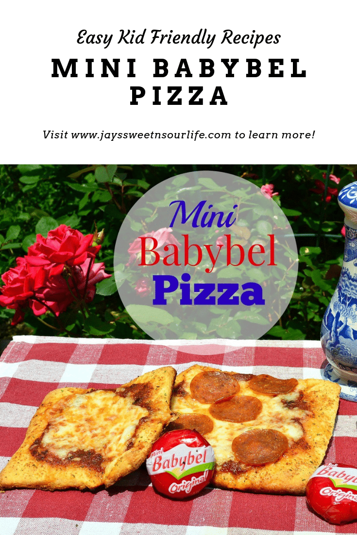 Bake up some kid-friendly mini babybel pizzas. They are perfect for quick weeknight dinners or easy to make weekend meals.