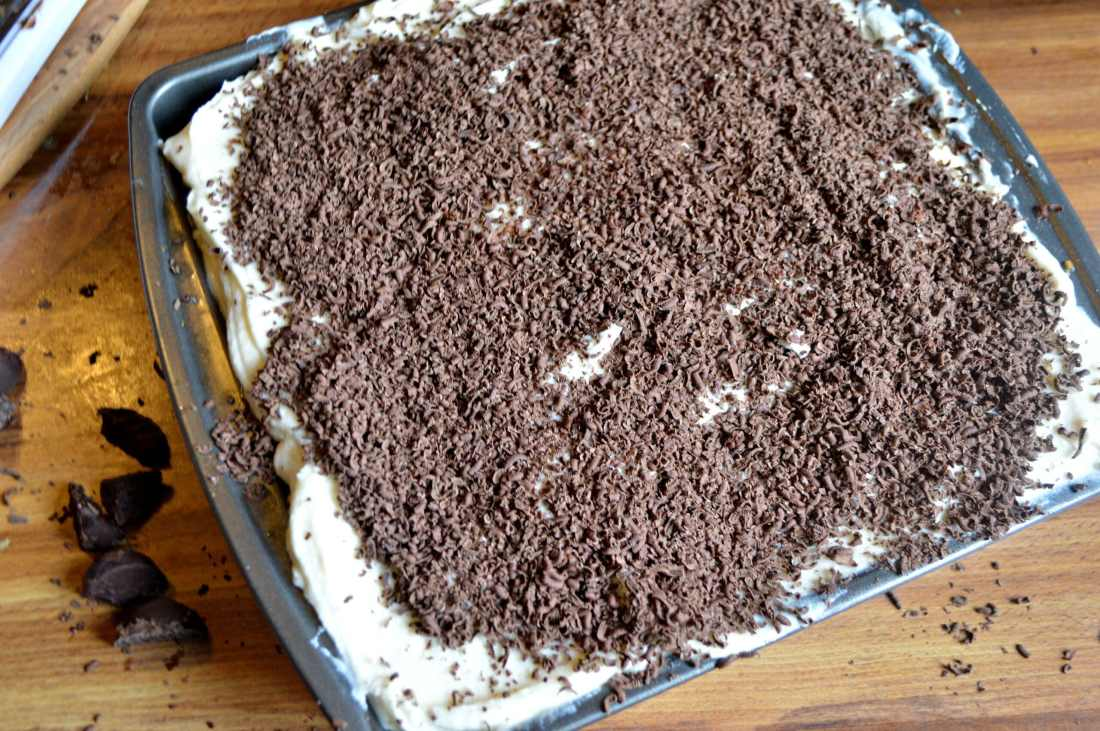 Pumpkin Tiramisu Step 26. Fall means pumpkin and whats fall without pumpkin flavored desserts. Enjoy a slice of this amazingly easy to make Pumpkin Tiramisu with your morning cup of coffee.
