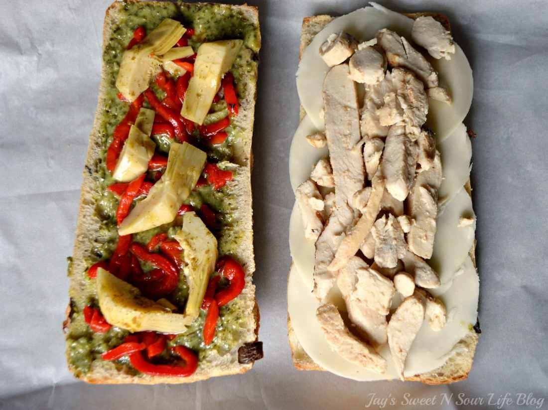 Chicken Artichoke Step 6. This Tuscan inspired sandwich is a wonderful blend of flavors that's perfect for a quick lunch, Boasting a perfect balance of sweet and savory.