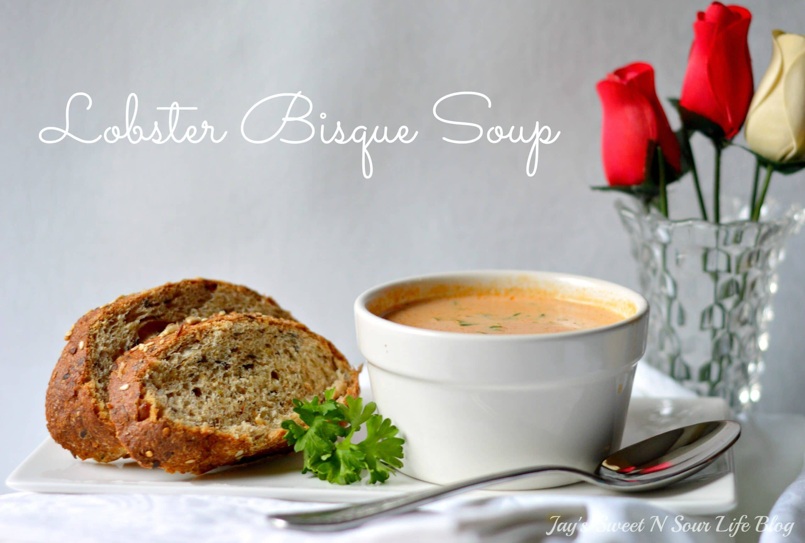 Crock-Pot Lobster Bisque Soup. A smooth and creamy Slow Cooker Lobster Bisque Soup that's always a family favorite. It's a creamy and spicy soup that uses lobster tails for a flavorful rich bisque. Your family won't believe you made this decadent soup in a crock-pot!