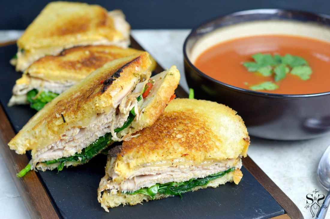 Turkey Pesto Grilled Cheese soup pair. If you are looking for that restaurantquality bistro sandwich, look no further. Bring the bistro home when you try my Turkey Pesto Grilled Cheese.