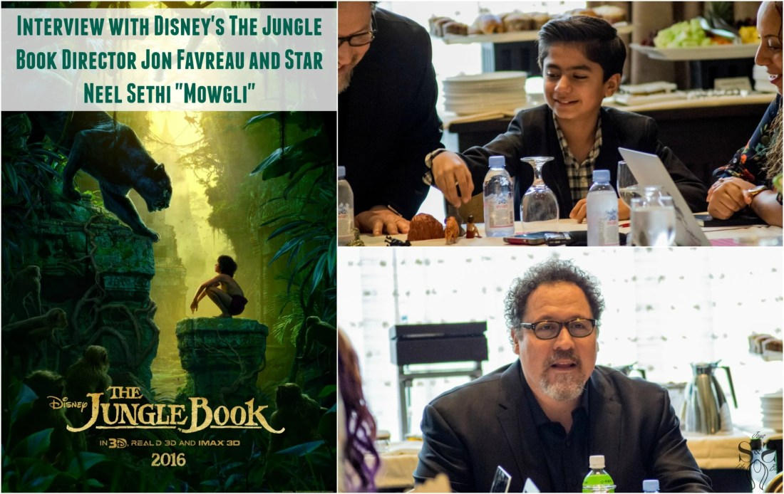"""Exclusive Interview with Disney's The Jungle Book Director Jon Favreau and Star Neel Sethi """"Mowgli"""""""
