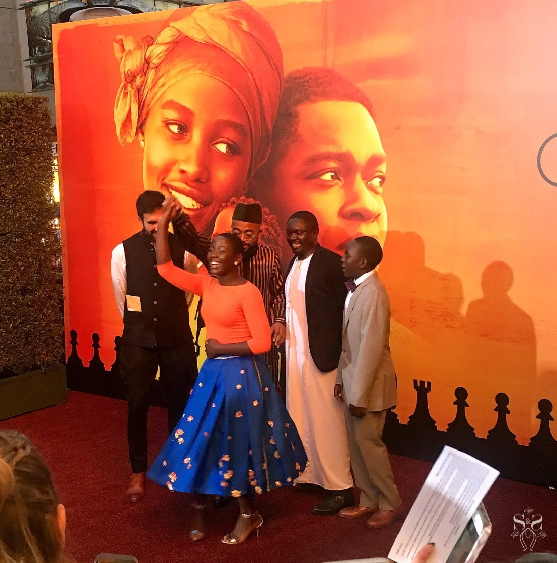 Walking The Red Carpet For Disney's Queen Of Katwe Premiere