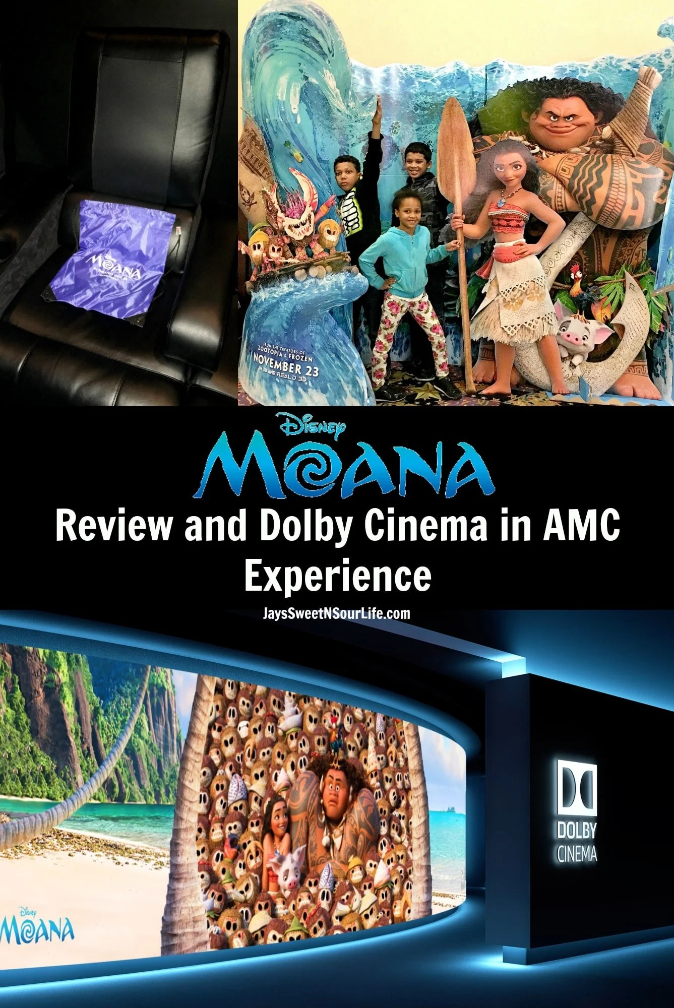 Willowbrook Amc 24 Disney39s Moana Movie Review And Dolby Cinema In Amc Experience