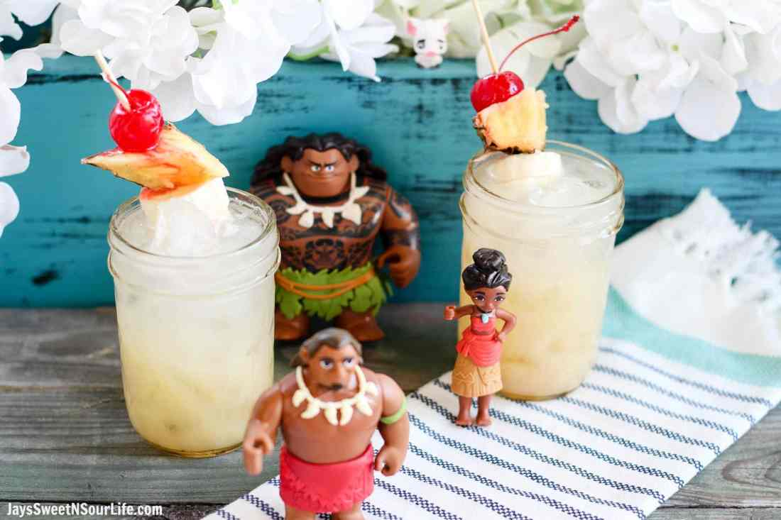 Moana Pineapple Soda Punch