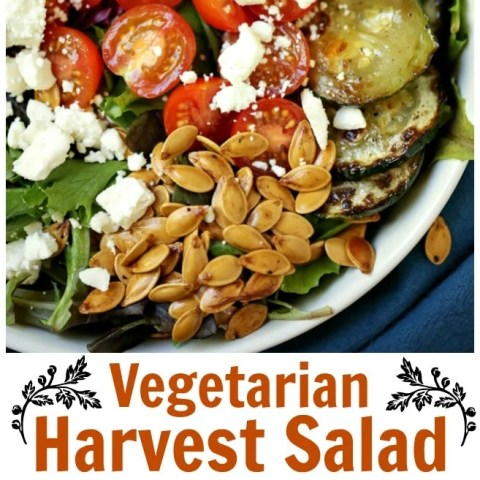 Vegetarian Harvest Salad