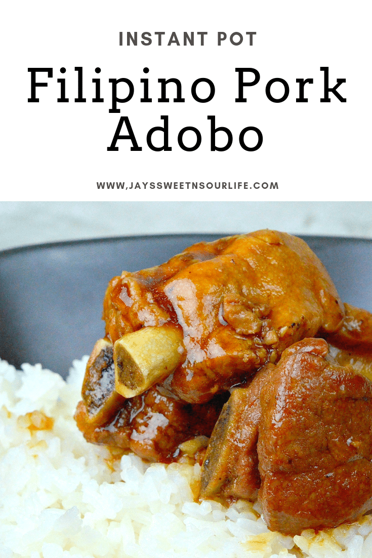 Filipino Pork Adobo. This fall of the bone Pressure Cookert Filipino Pork Adobo is to die for. Try my families secret recipe and taste what we have been cooking for generations.