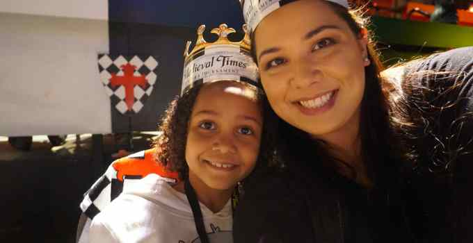 A Knight Out At Medieval Times