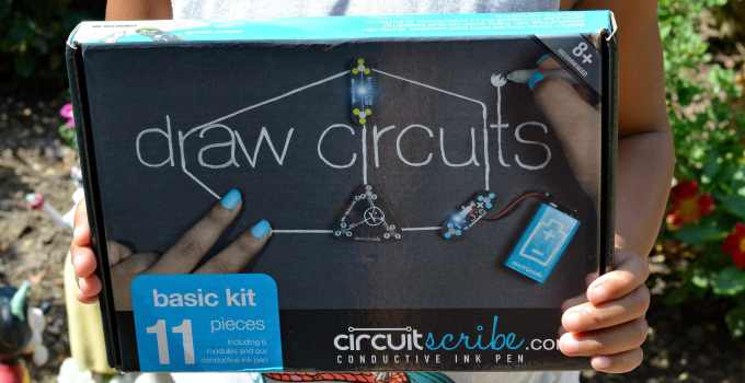 Exercising Our Brains With The STEM Circuit Scribe