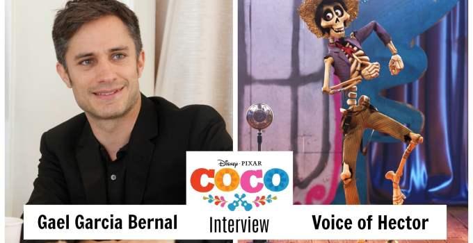 Gael Garcia Bernal Voice of Hector in Disney Pixars COCO Interview