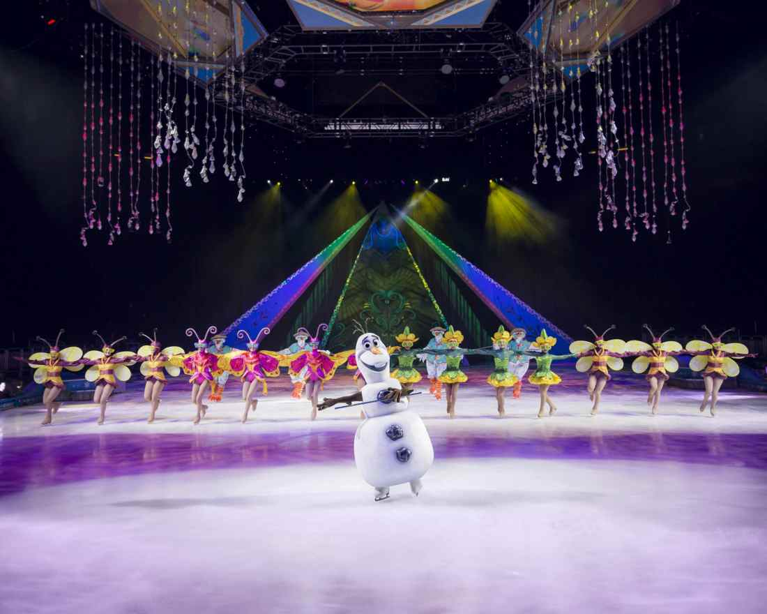 Disney on Ice Presents Frozen will be coming to the Washington D.C. Area Feb 14-19 Featuring your favorite loveable characters.