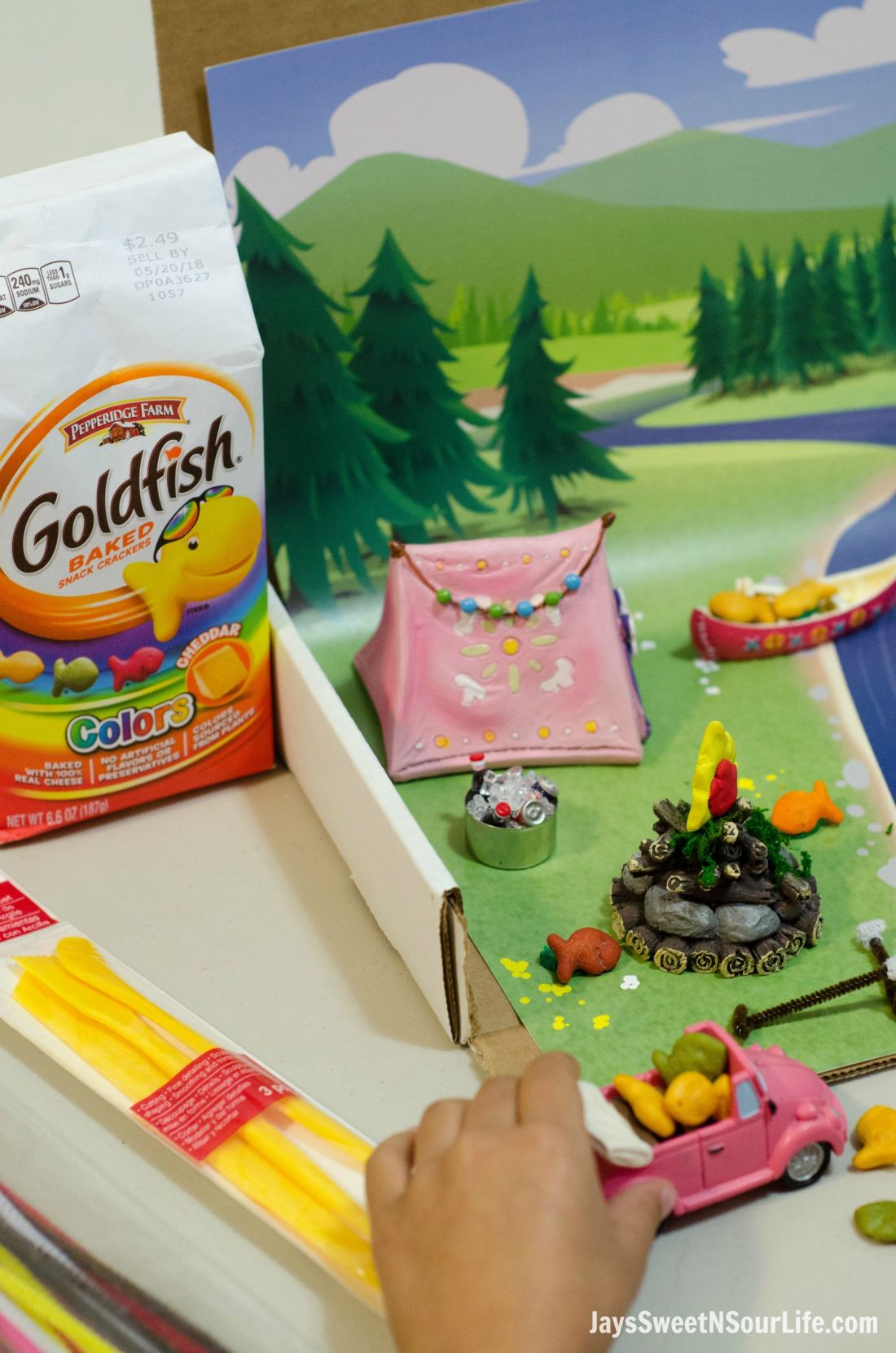 Creating Goldfish Tales with your kids are a fun way to spend your afternoons together. Create a stop motion video and share your families story. Let the kids set the stage and create a story to remember.