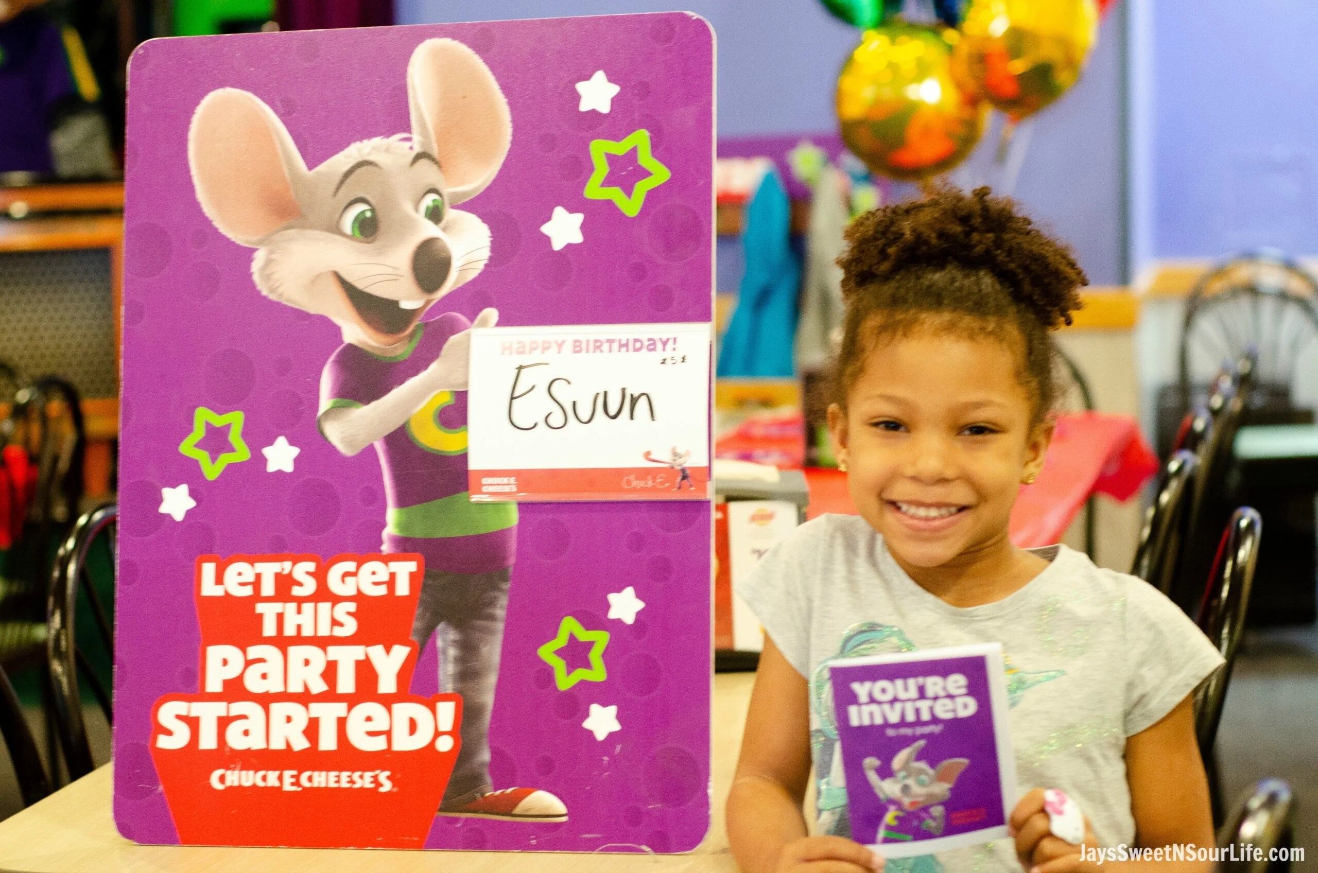 Thats Why When I Found Out They Now Offer A Chuck E Cheeses VIP Birthday Party Option Jumped At The Opportunity To Book One