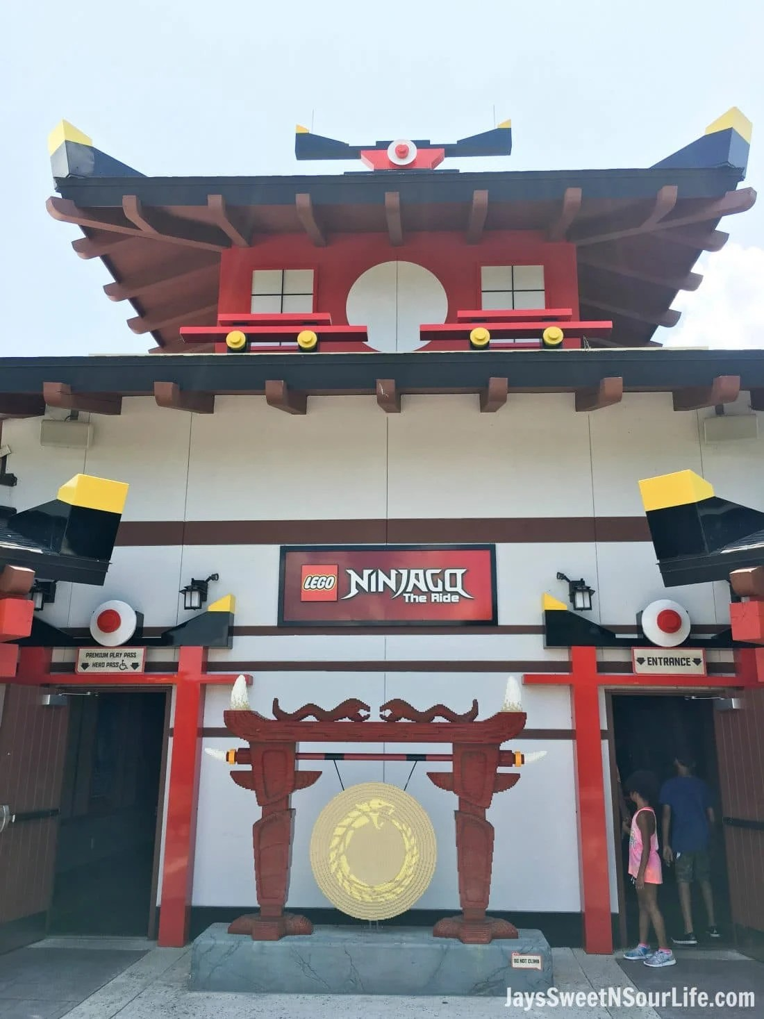 Legoland Florida Ninjago World Ride Entrance. Spend your summer building memories at Legoland in Florida. There is something for the whole family to enjoy at this wonderful Theme Park.