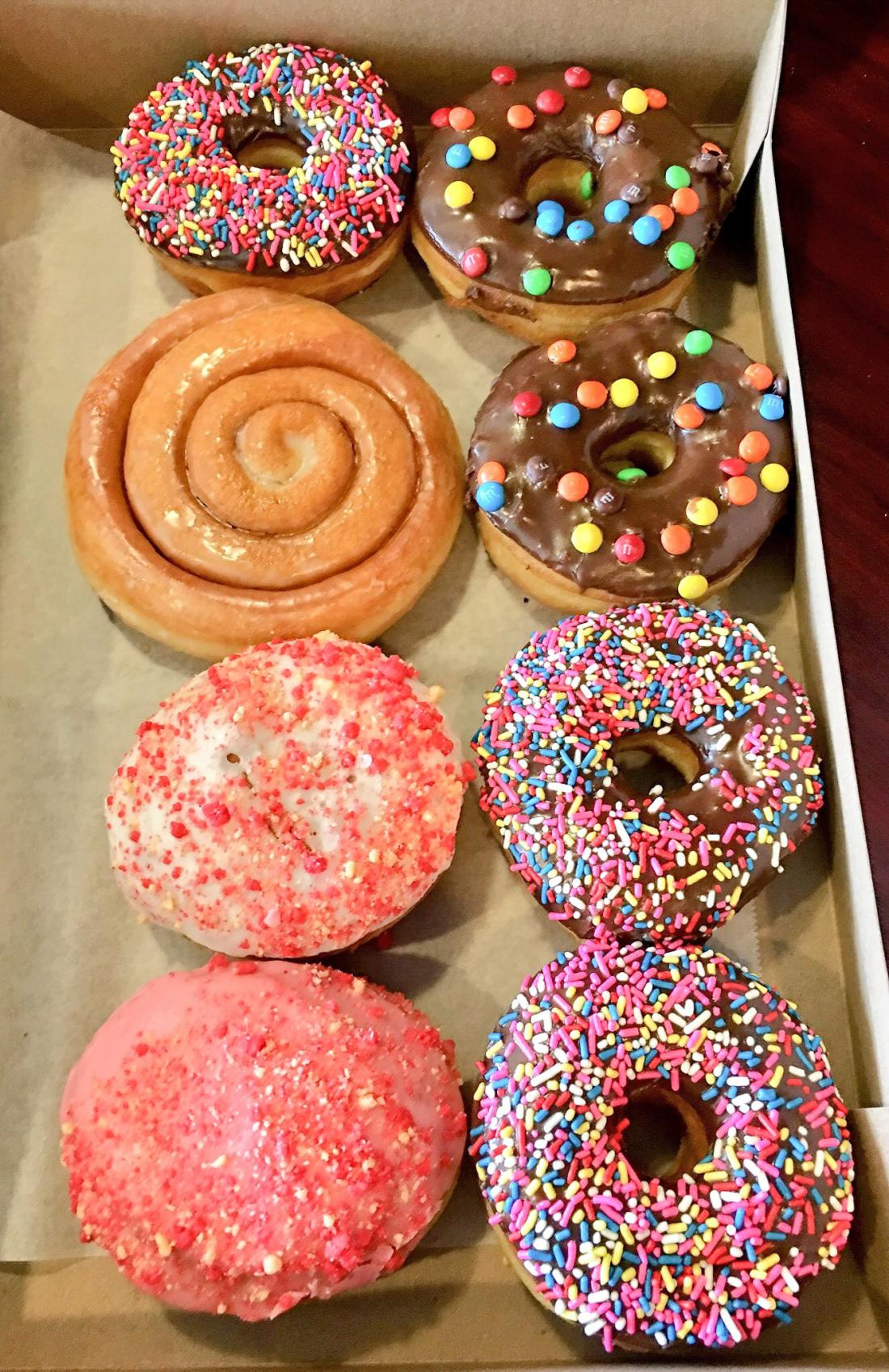 OMG Donuts and Bakery Assorted Donuts. OMG Donuts and Bakery Travel Review via - JaysSweetNSourLife.com