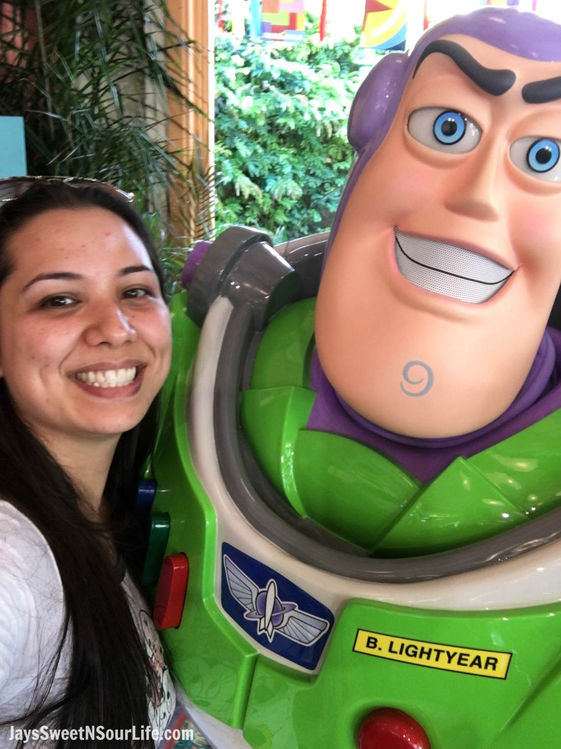 Pixar Fest Pixar Pals Buzz Lightyear Selfie. Pixar Fest at Disneyland runs from April 13 through September 3rd.