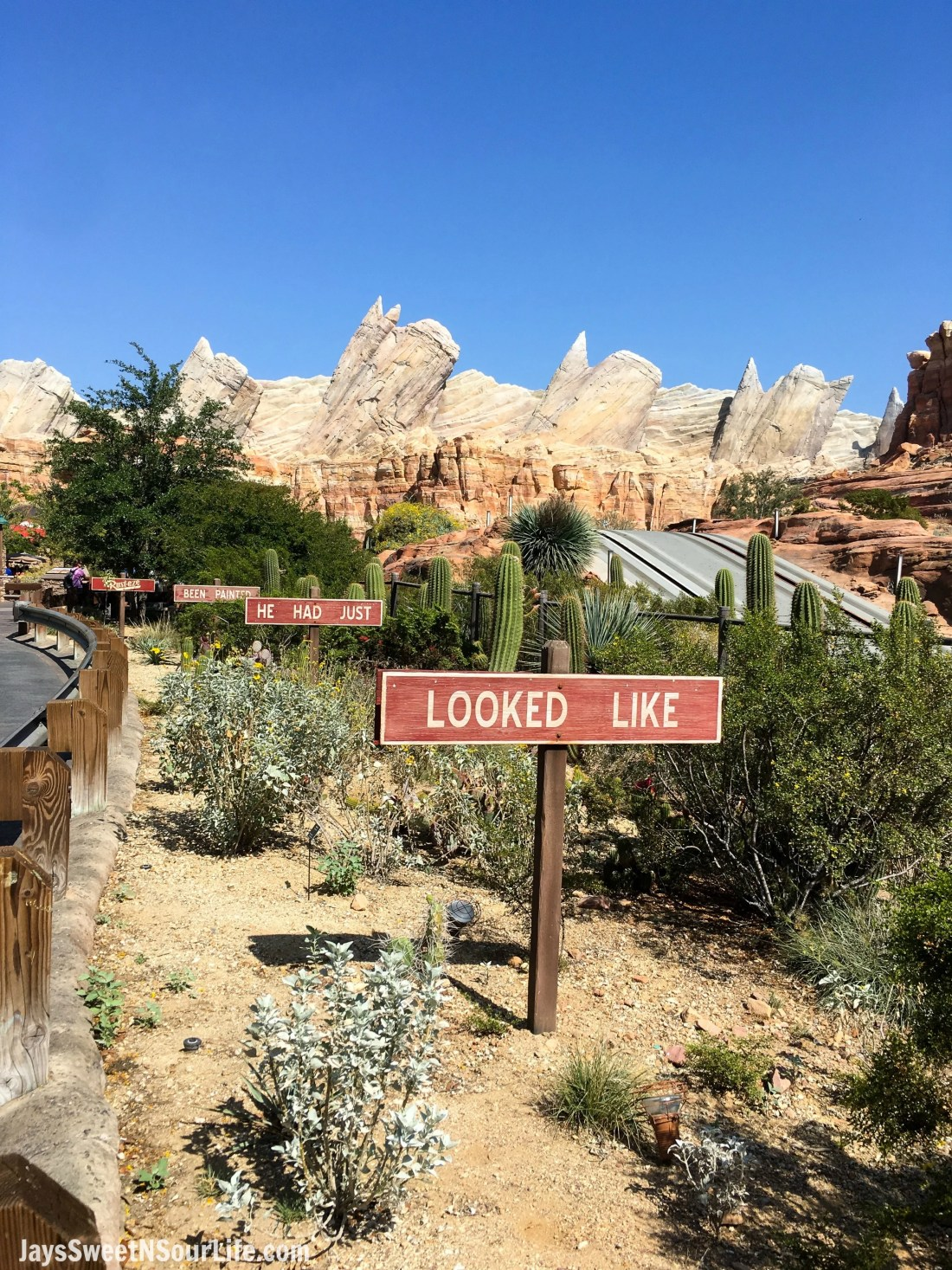 Radiator Springs Disneyland California. Pixar Fest at Disneyland runs from April 13 through September 3rd.