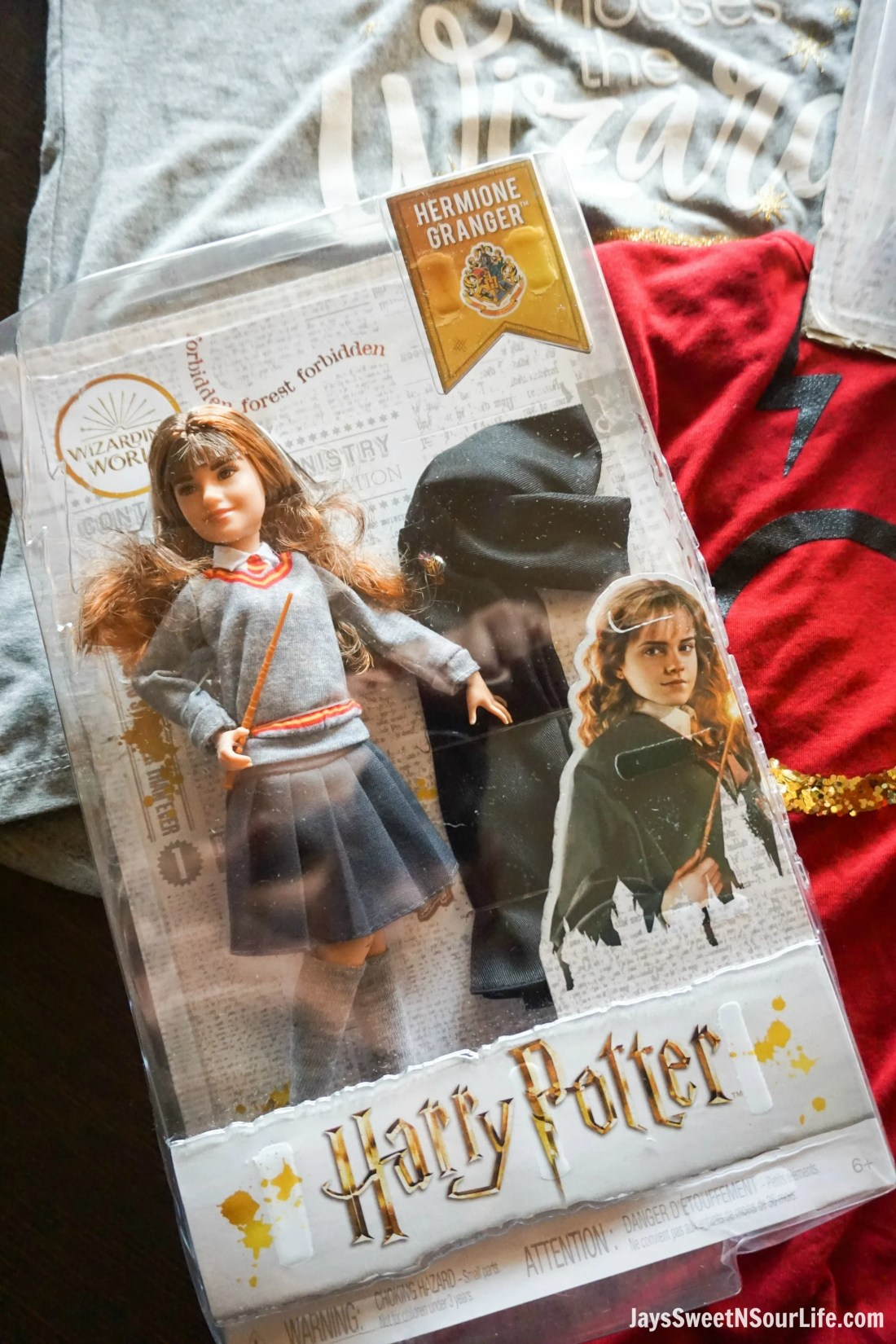 Harry Potter Dolls Closeup Hermione. Learn more aboutthese collectable Harry Potter Dolls at Jayssweetnsourlife.com .