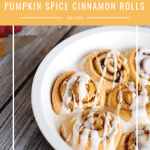 These easy to make and oh so delicous, perfect for home made Saturday Morning breakfasts. Fill your home with the delicious smell of these easy to make Pumpkin Spice Cinnamon Rolls.