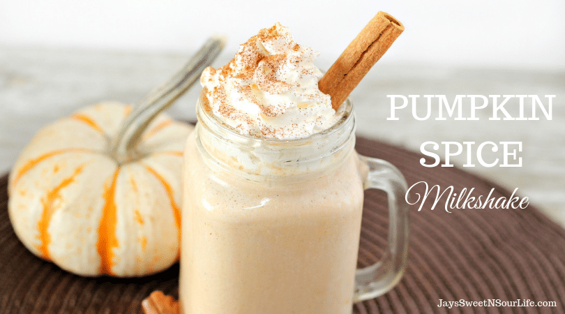 This Quick and easy pumpkin spice milkshake with pumpkin, spices, and creamy ice cream. The perfect way to treat yourself to a delicious treat right at home!