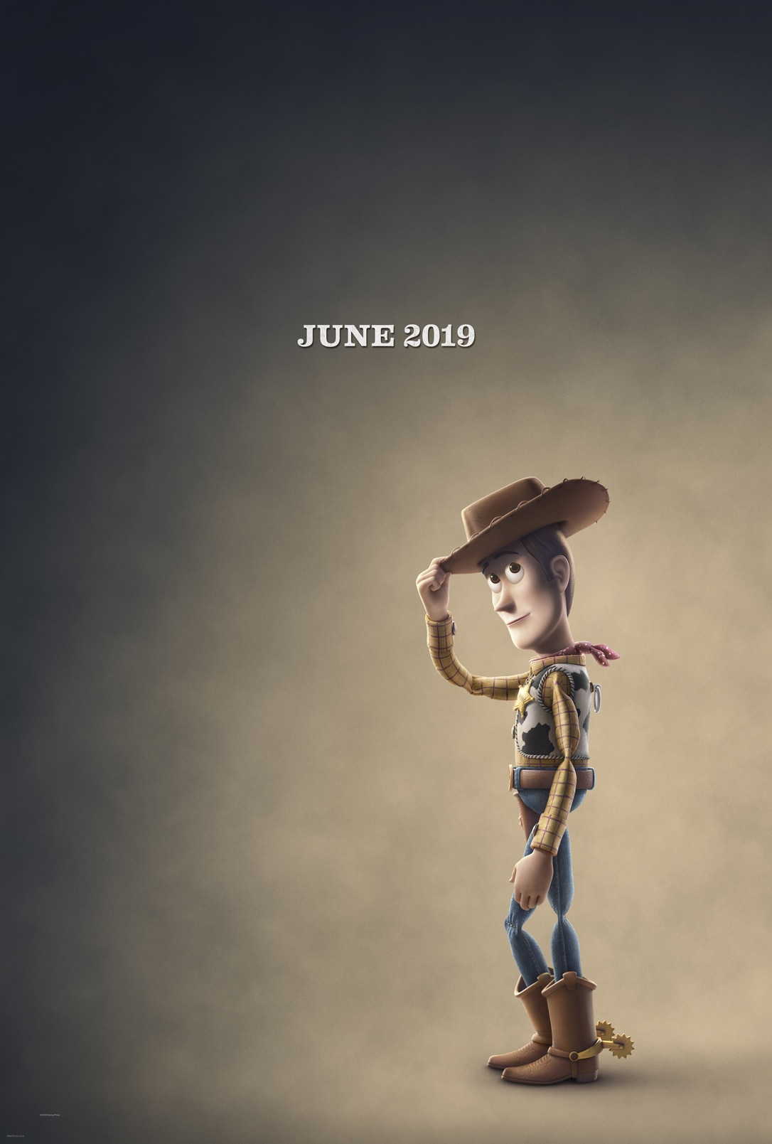 Toy Story 4 Poster. TOY STORY 4 will be released in U.S. theaters on June 21, 2019.