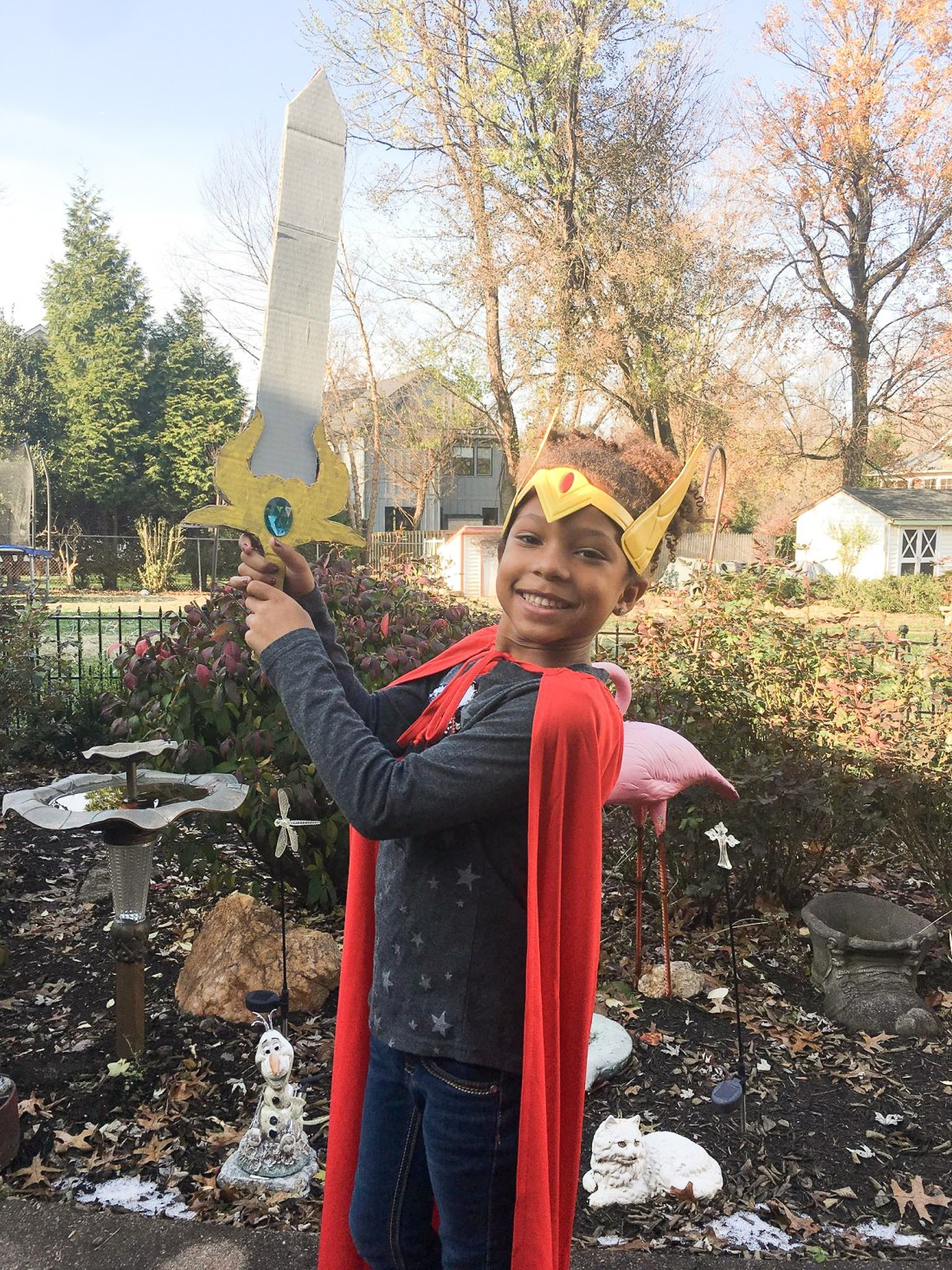 African American Girl Holding she-ra sword craft . The highly anticipated Netflix original, DreamWorks She-Ra and the Princesses of Power, is now available. Stream all 13 episodes only on Netflix today!