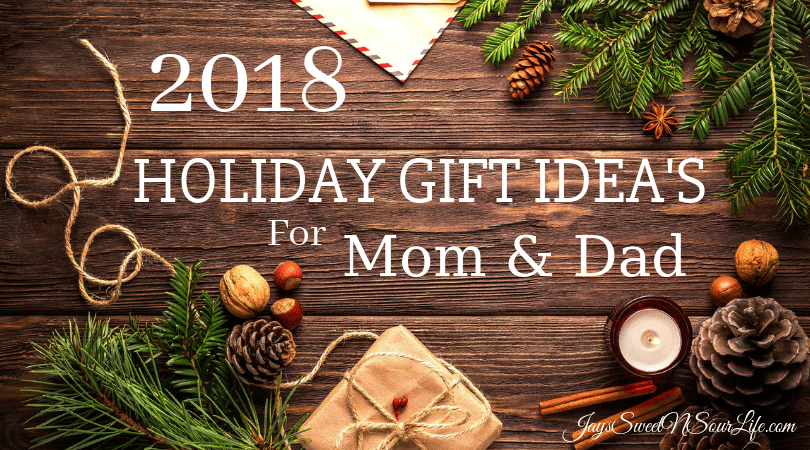 2018 Holiday Gift Ideas For Mom and Dad. This season take the guess work out of what to give mom and dad. Read more about the hottest gifts of the season on my blog.