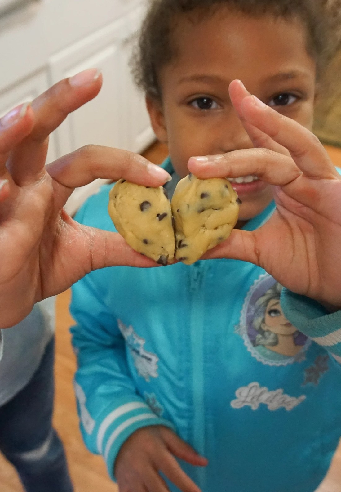 The Future is In Good Hands Heart Cookies. Learn more about how we baked cookies to bring our community together.
