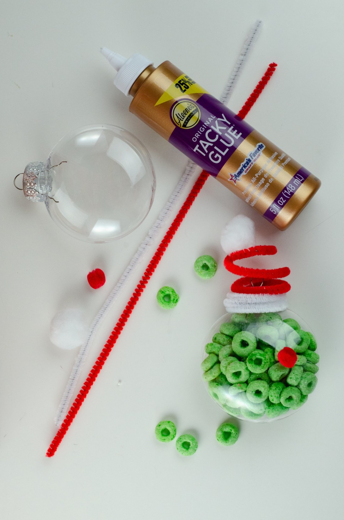 Christmas Ornament Ideas for Kids Using Cereal The Grinch Supplies. It's time to let the kids be the boss for this new kid-friendly Christmas DIY. Rethink Cereal with somr my Christmas Ornament Ideas for Kids Using Cereal.