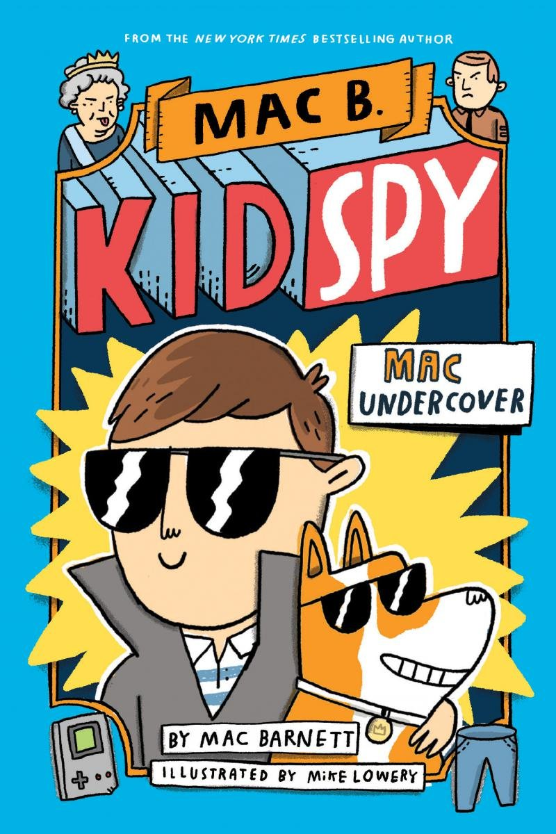 James Bond meets Diary of a Wimpy Kid with this groundbreaking fully-illustrated chapter book series Mac B., Kid Spy. Read more about this book and more books in my Holiday Gift Ideas For Kids Guide.