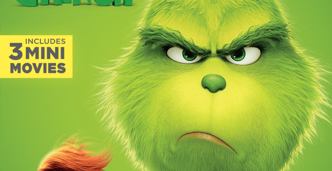 Universal Pictures Home Entertainment's Dr. Seuss' The Grinch – Digital 1/22 Bluray 2/5