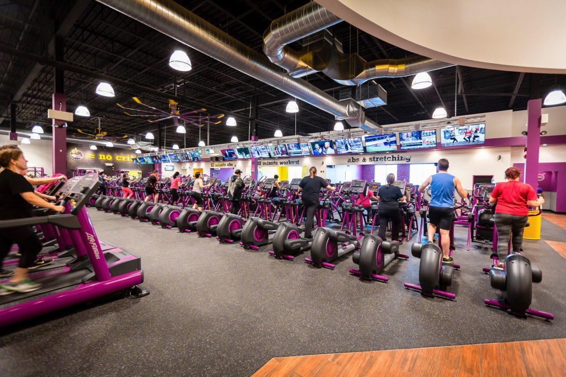 "Planet Fitness Inside. Planet Fitness Judgement Free Zones for the ""everyday people"". Take advantage of their new membership sale with this $1 down and $10 a month offer."