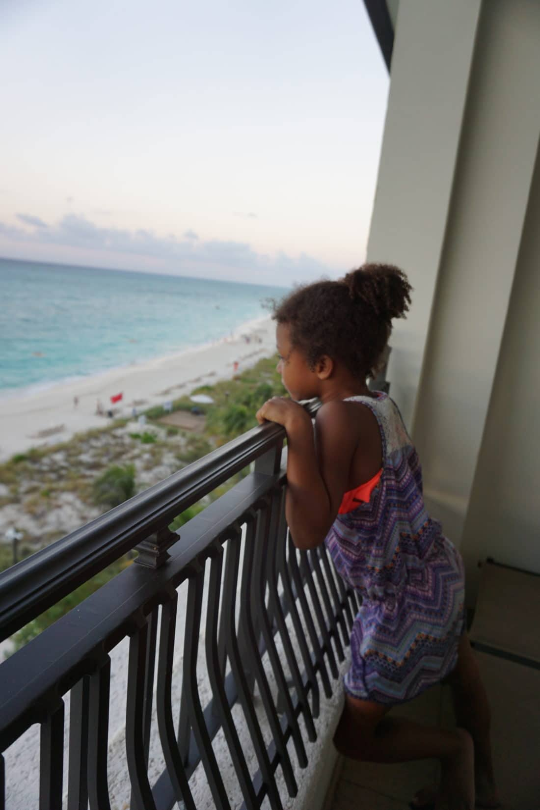 Oceanfront Family Suite Room Tour at Beaches Resorts in Turks and Caicos Girl On Balcony. Paradise does exist, and it's only a plane ride away. Take a look inside our suite in this Oceanfront Family Suite Room Tour at Beaches Resorts in Turks and Caicos.