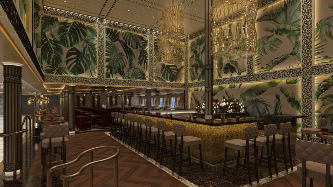 JazzBar Mardi Gras Carnivel Cruise Line. Six Distinctive, Themed Zones Will Deliver the Fun Carnival is Known For, All Coming on Mardi Gras in 2020. Learn more about this ship on my blog.