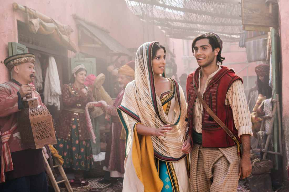 Aladdin and Jasmine. Take a Special First Look At Disney's Aladdin, plus see Will Smith As The Genie! Never before seen footage and photos of the film are now available.