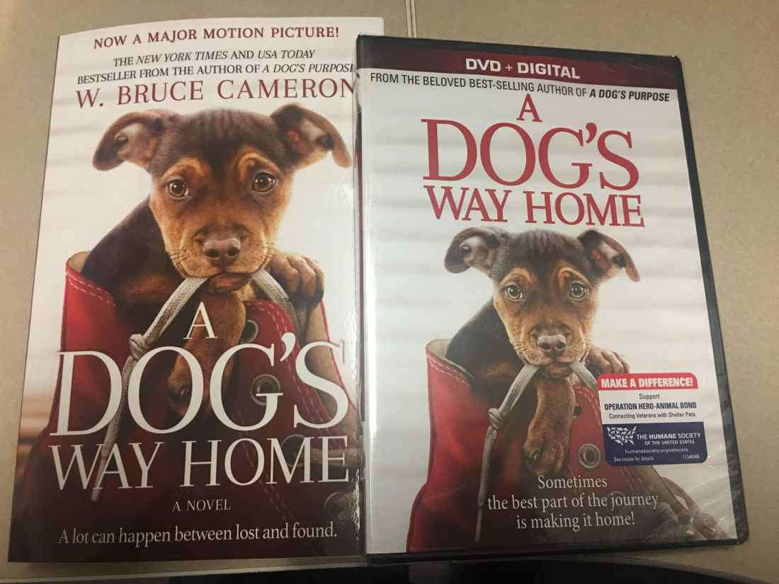 """A Dog's Way Home DVD and Book Giveaway. I am very excited to partner with Sony Pictures to bring you my """"A Dog's Way Home"""" DVD and Book Giveaway! This touching film shares Bella's heartwarming adventure as she embarks on an epic 400-mile journey back home."""