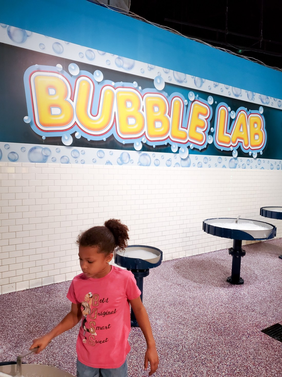 "WonderWorks Bubbles Lab. One of the top things to do in Pigeon Forge, WonderWorks Indoor Amusement park, is one of the best Pigeon Forge Attractions. With over 35,000 square feet of ""edu-tainment,"" WonderWorks is an amusement park for the mind. Read our full review on the blog."