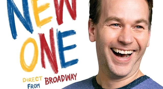 Mike Birbiglia's The New One Ticket Giveaway – The National Theatre