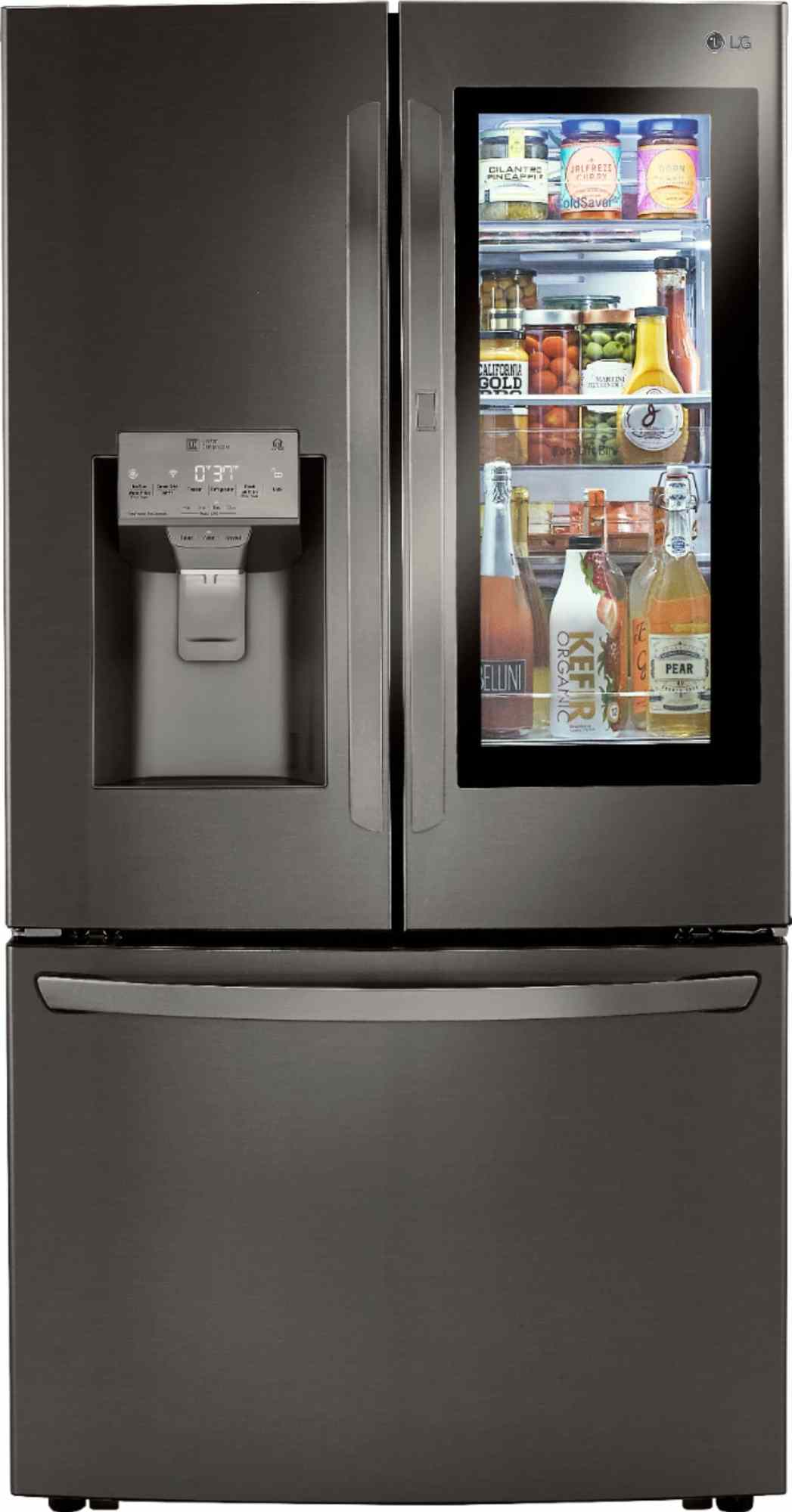 LG InstaView™ Door-in-Door® Refrigerator with Craft Ice™. LG's newest InstaView™ Door-in-Door® refrigerator with Craft Ice™ has everything you need to become the ultimate home entertainer. Purchase LG's newest refirdgerator in store or online at Best Buy.