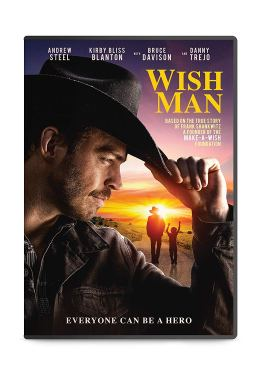 Wish Man DVD. After surviving a near-fatal accident and being framed for police brutality, his whole world falls apart. Unexpectedly, he finds hope in the shape of a terminally ill boy, who reunites him with his father after 28 years. To honor the boy, he creates the Make-A-Wish Foundation.