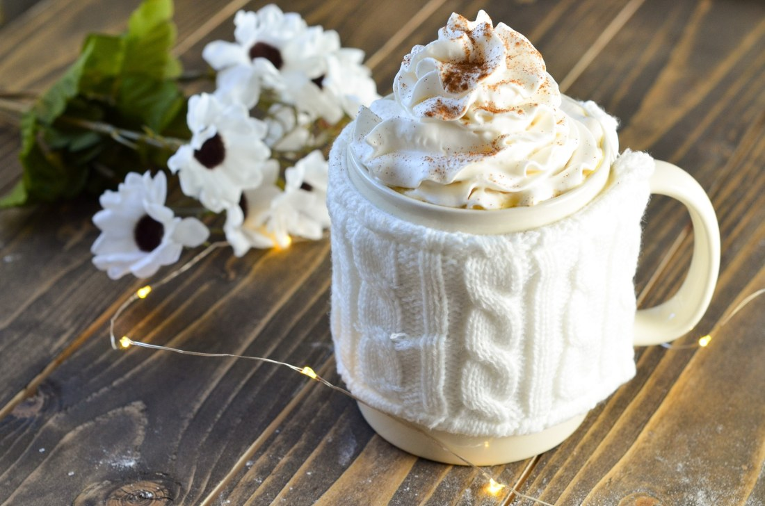Almond Milk Butterbeer Latte. Mix up something delicious for your family this coming up holiday. Indulge in a warm cup of my Almond Milk Butterbeer Latte with a side of Sticky Toffee Pudding.